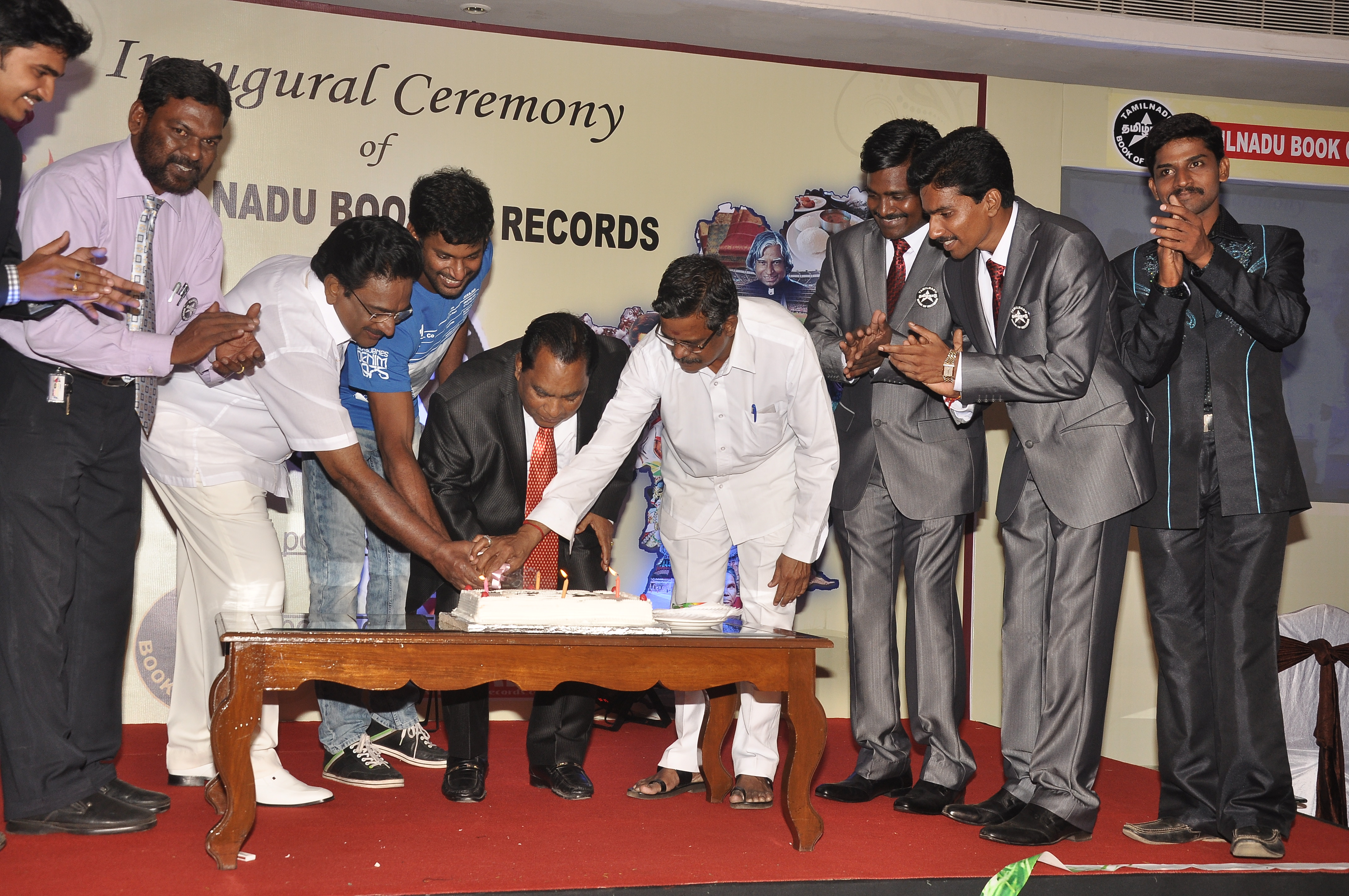 LAUNCH OF TAMIL NADU BOOK OF RECORDS – Universal Achievers